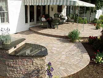 Brick Patio Pa Portico Builder Contractor Montgomery County